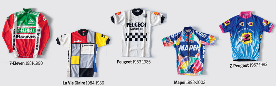 c5bffabbf Unforgettable Classic Designs Retro Cycling Jerseys